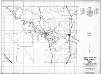 Coke County 1936 Highway Map, Coke County 1936 Highway Map