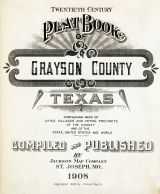 Title Page, Grayson County 1908