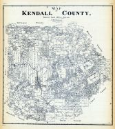 Kendall County Texas Map