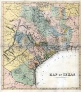 Texas 184x State Map 24x26, Texas 184x State Map