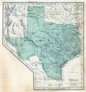 Texas 1856 State Map, Texas 1856 State Map