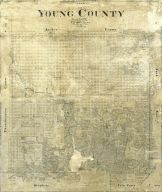 Young County Texas Map
