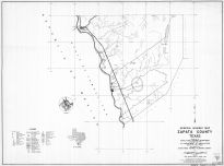 Zapata County 1936 South - Highway Map