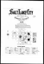 Index Map, Title Page, Street Index, Salt Lake City 1884
