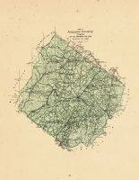 County Map, Augusta County 1885