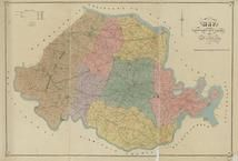 Chesterfield County Wall Map Virginia Historical Atlas - Historical wall maps