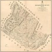Rockingham County 1875 Wall Map