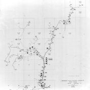 Index Map - Bergton Substation 4, Rockingham County 1963 Electrical Circuit Diagrams