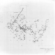Index Map - Linville Substation 5, Rockingham County 1963 Electrical Circuit Diagrams