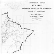 Index Map - Rockingham County, Rockingham County 1963 Electrical Circuit Diagrams
