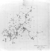 Index Map - Springhill Substation 8, Franks Mill Substation 9, Rockingham County 1963 Electrical Circuit Diagrams