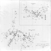 Index Map - Timberville Substation 3, Elkton Substation 7, Rockingham County 1963 Electrical Circuit Diagrams
