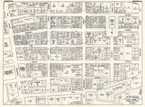 Roanoke, Virginia 1950c Nirenstein City Maps