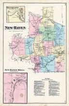 New Haven Township, Brooksville, New Haven Mills