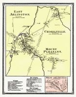Arlington Town East, Arlington Town West, Bennington County 1869