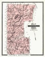 Bennington Plan, Bennington County 1869