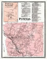 Pownal, Pownal Center Town, Bennington County 1869