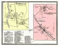 Pownal Town, Pownal Town North, Bennington County 1869