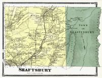 Shaftsbury, Glastenbury Town, Bennington County 1869