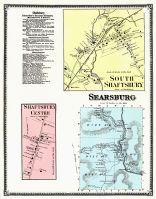 Shaftsbury Town South, Shaftsbury Town Center, Searsburg, Bennington County 1869