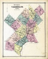 Coledonia County Plan, Caledonia County 1875