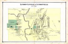 Lyndon Center & Lyndonville Town, Caledonia County 1875