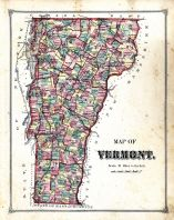 Vermont Map, Caledonia County 1875