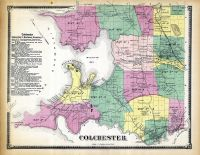 Colchester, Chittenden County 1869