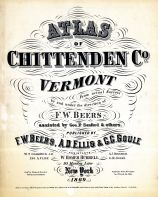 Title Page, Chittenden County 1869