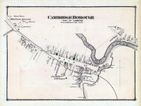 Cambridge Borough Town, Lamoille and Orleans Counties 1878