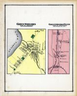 Greensboro Town, Greensboro Bend Town, Lamoille and Orleans Counties 1878
