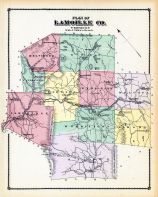 Lamoille Co. Plan, Lamoille and Orleans Counties 1878