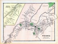 Stowe Town, Lower Village, Lamoille and Orleans Counties 1878