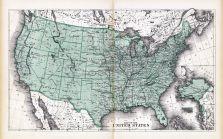 United States Map, Lamoille and Orleans Counties 1878