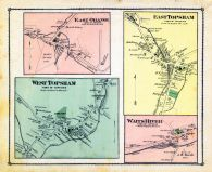 Orange Town East, Topsham Town East, Topsham Town West, Waits River Town, Orange County 1877