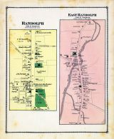 Randolph Town, Randolph Town East, Orange County 1877