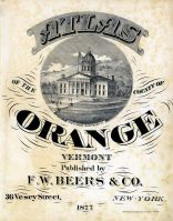 Title Page, Orange County 1877