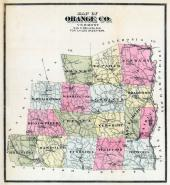 Orange County, Orange County 1888c from Orange County 1762 to 1888 Directory
