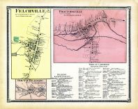 Felchville Town, Protorsville Town, Reading Town South, Windsor County 1869