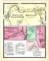 Hartland Four Corners, Hartland Town, Hartland Town North, Plymouth Town, Unionville Town, Brownsville Town, Windsor County 1869