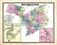 Rochester, Rochester Town, Mill Village, Windsor County 1869