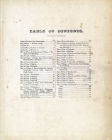 Table Of Contents, Windsor County 1869