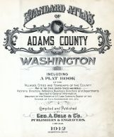 Title Page, Adams County 1912