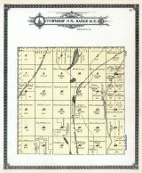 Township 19 N., Range 38 E., Green Lake, Simes Lake, Adams County 1912
