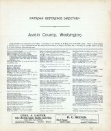Directory, Asotin County 1914