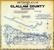 Index Map and Title Page, Clallam County 1942