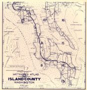 Title Page and Index Map 1, Island County 1949