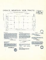 Cheal's Mountain View Tracts, King County 1945 Vols 1 and 2