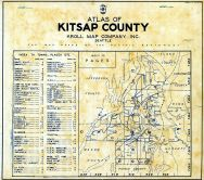 Index Map, Index, Kitsap County 1940