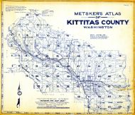 Index Map, Kittitas County 1956